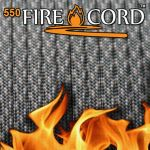 【Bush Craft】 Live Fire Gear 550 Fire Cord ACUデジタルカモ 7.62メートル(25ft)